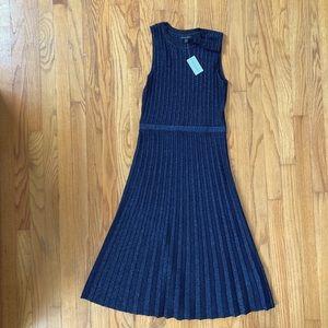 NWT Banana Republic pleated dress size XS